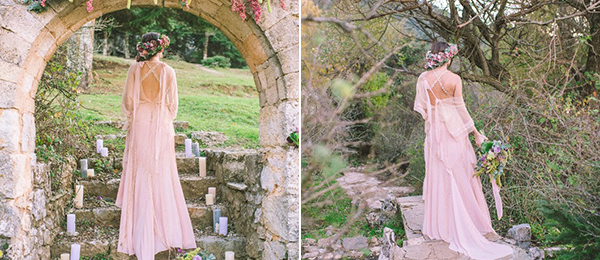 """PINK AND COPPER BOHO STYLED SHOOT"" on ""Love 4 Wedding"""